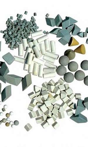 Chips abrasivos para tamboreamento