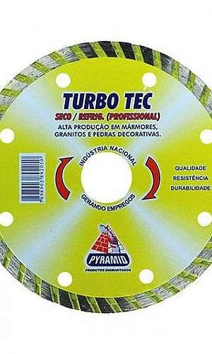 Disco diamantado turbo